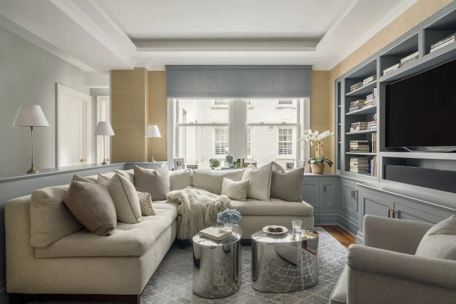 sofas for small es chelsea home the best rooms are sectionals architectural digest neutral room with sectional by ashley darryl