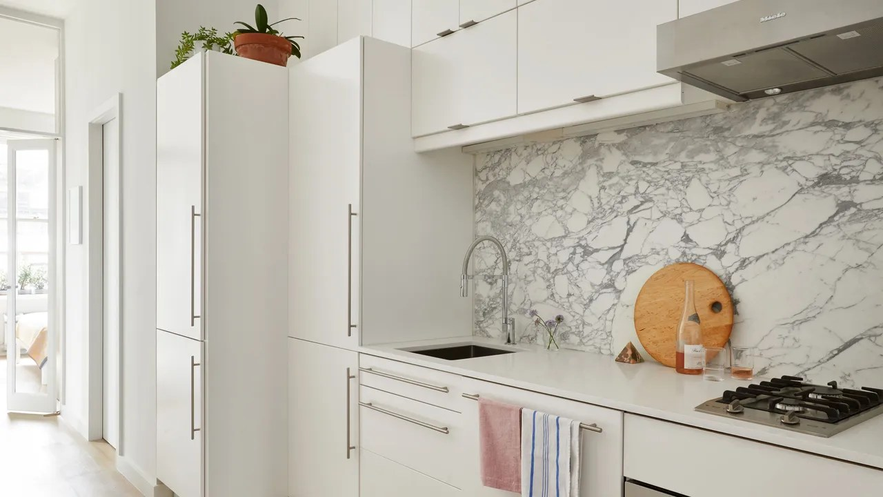 ikea kitchen countertops cabinet remodel hacks so your doesn t look like everyone else s with marble countertop