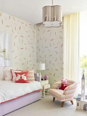 wall stencil confetti digest architectural trump kid rooms paint