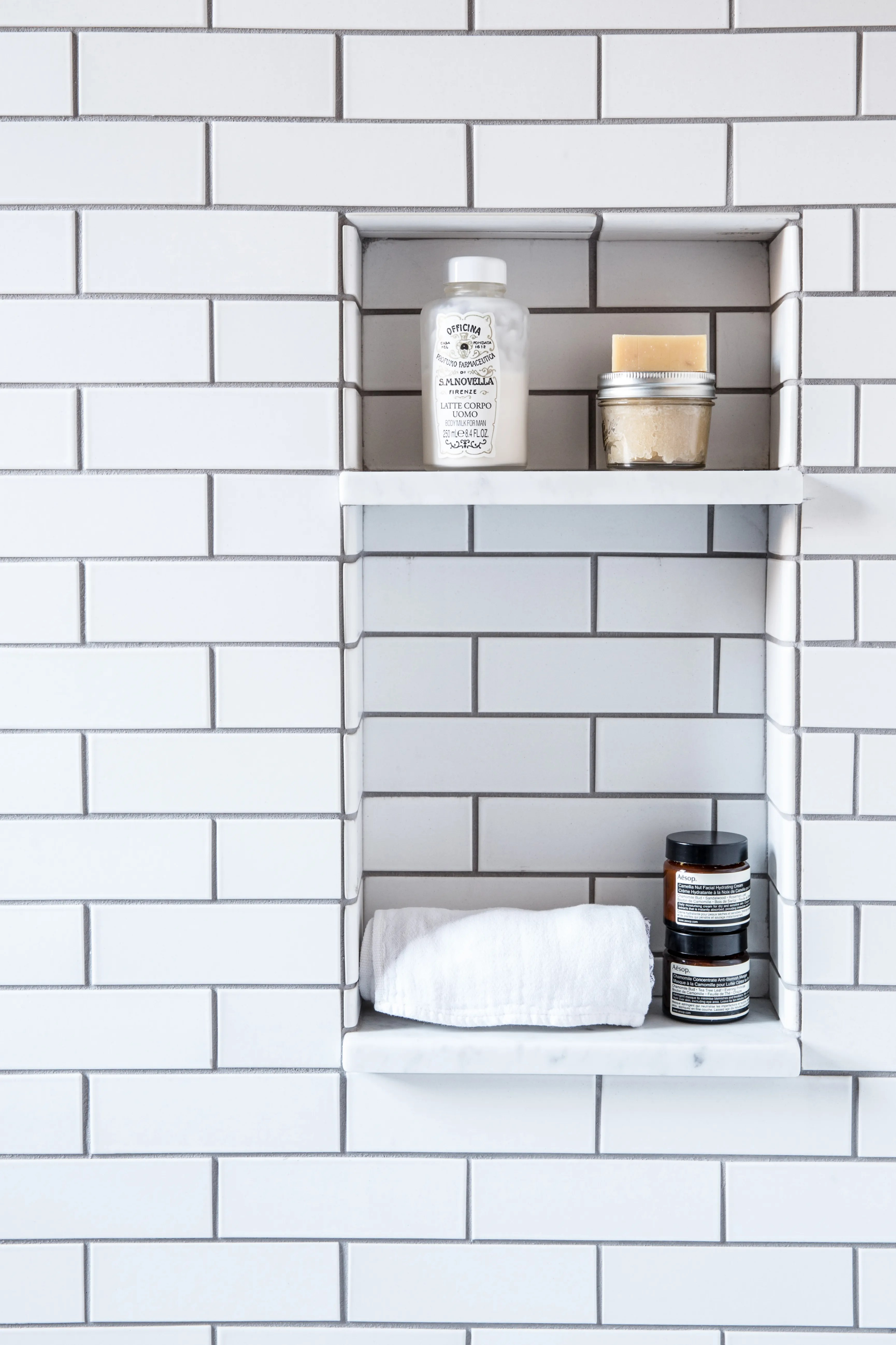 A Shower Niche Is An Absolute Must Have In Your New Bathroom Architectural Digest