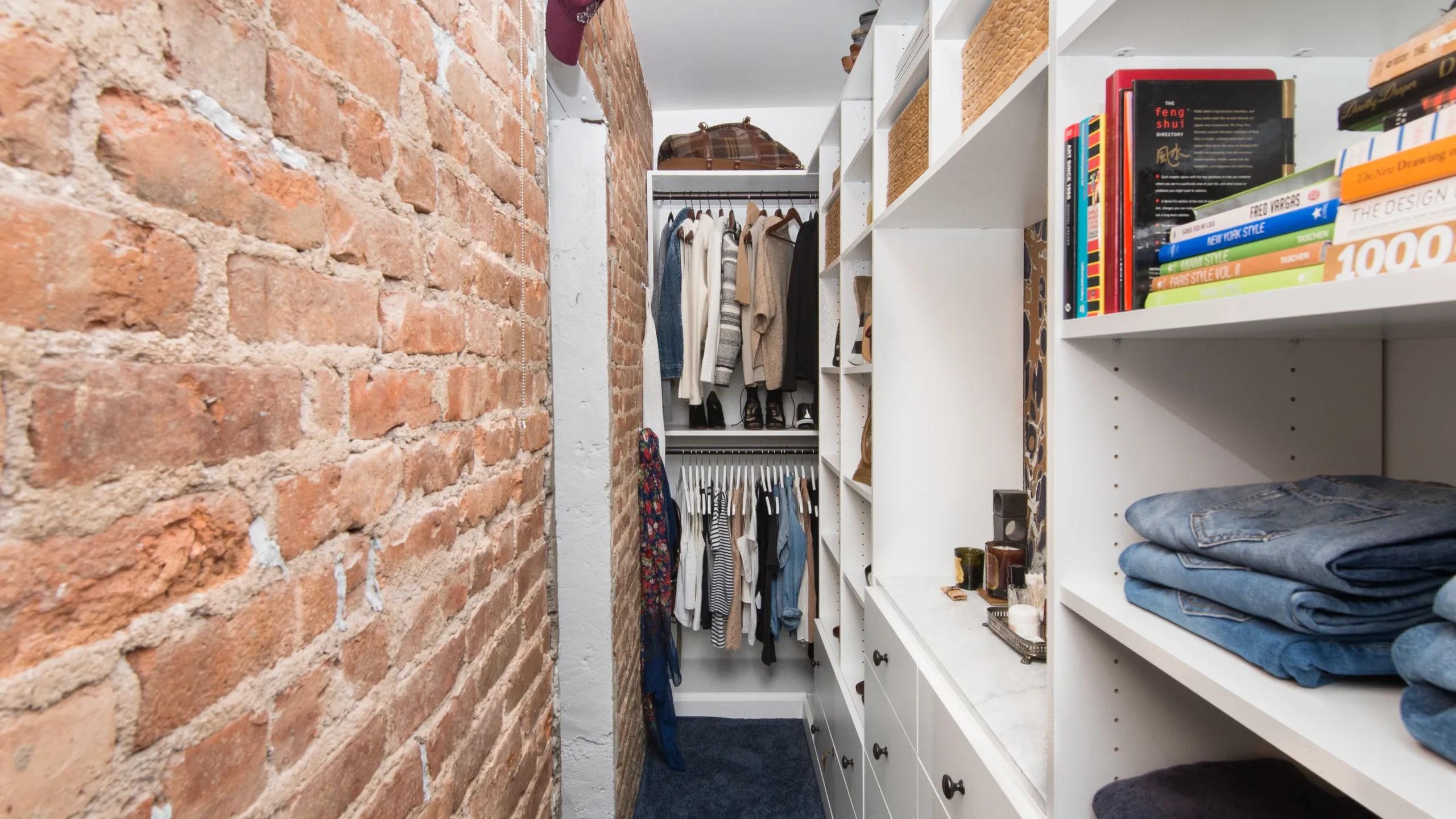 A Walk In Closet That Fits In A Studio Believe It