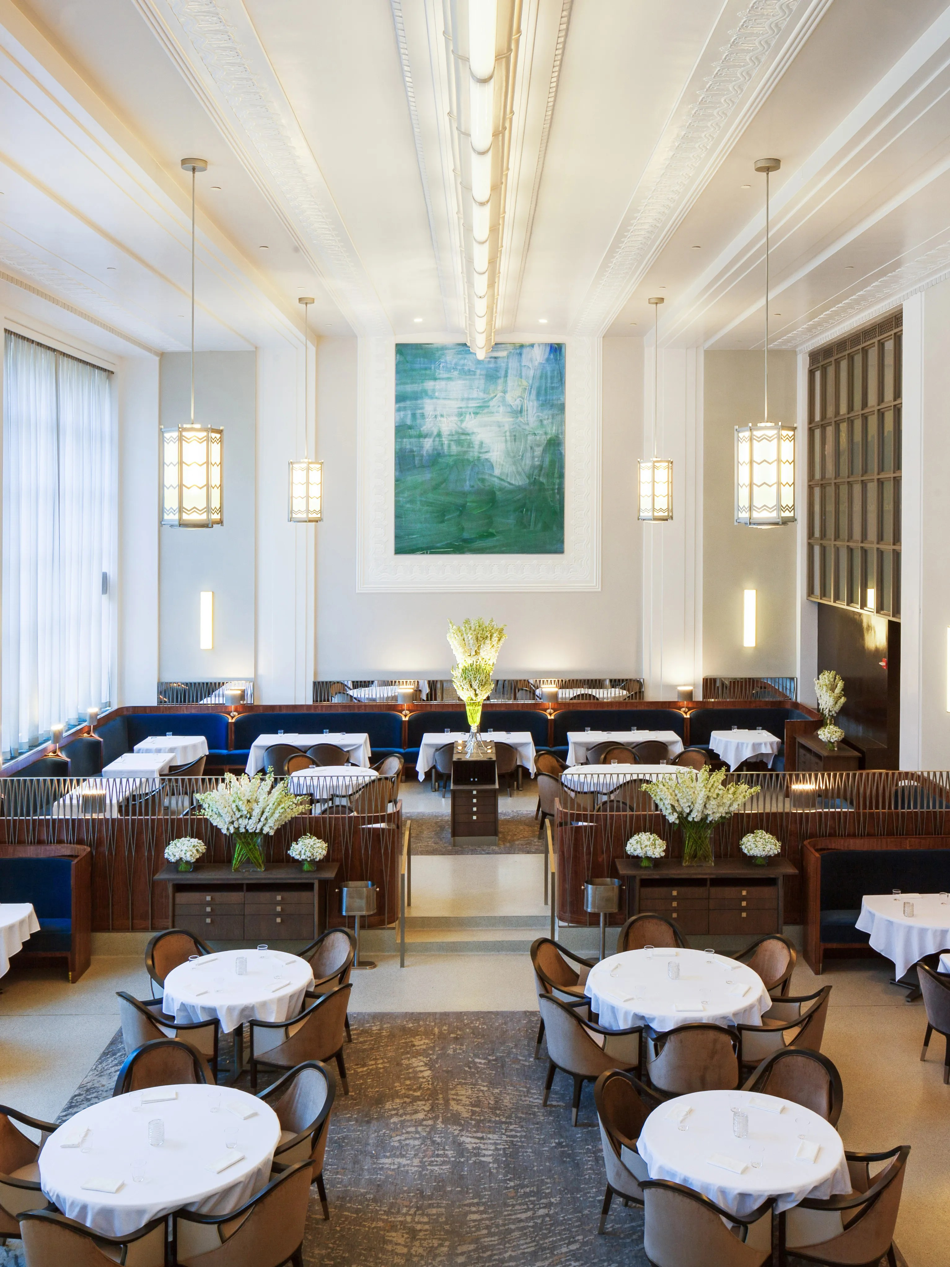 chair design restaurant mexican chairs for eleven madison park reopens with a swanky new look architectural digest