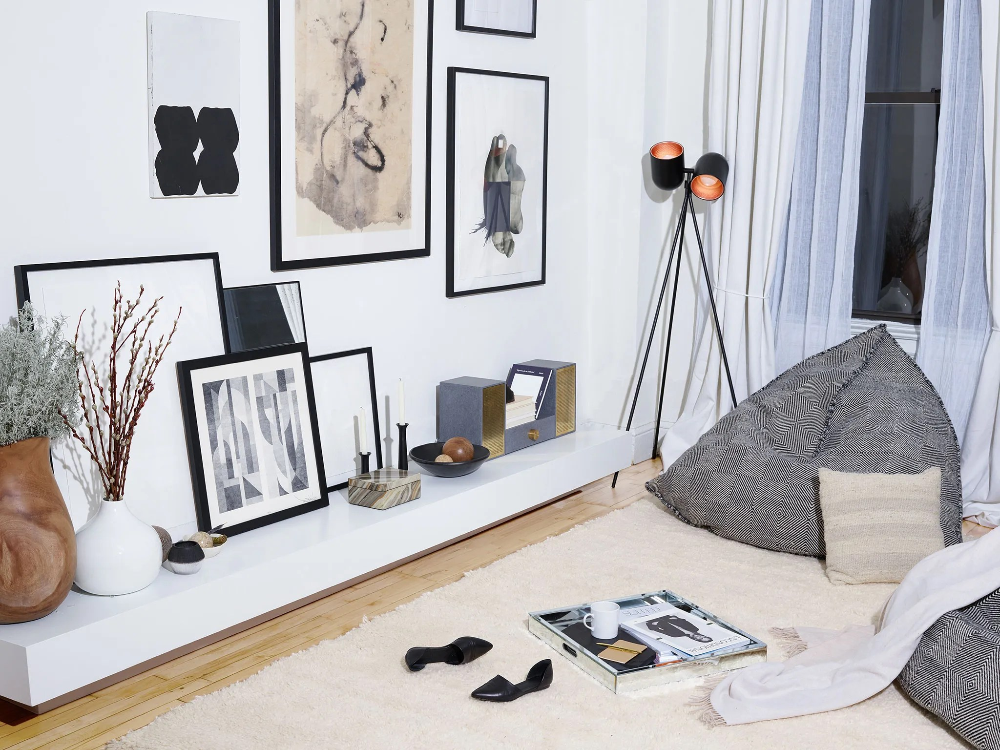 how to make bean bag chair pub chairs clearance the grown-up way do beanbags | architectural digest