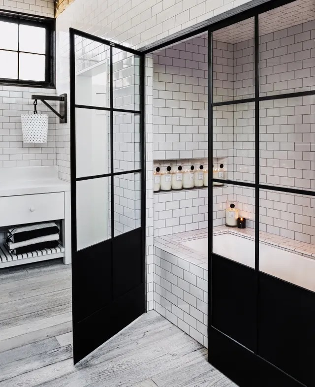 Master bathroom in Diane Keaton home, for the book The House that Pintrerest Built