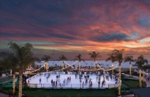 Outdoor Ice Rinks Luxury Hotels Architectural