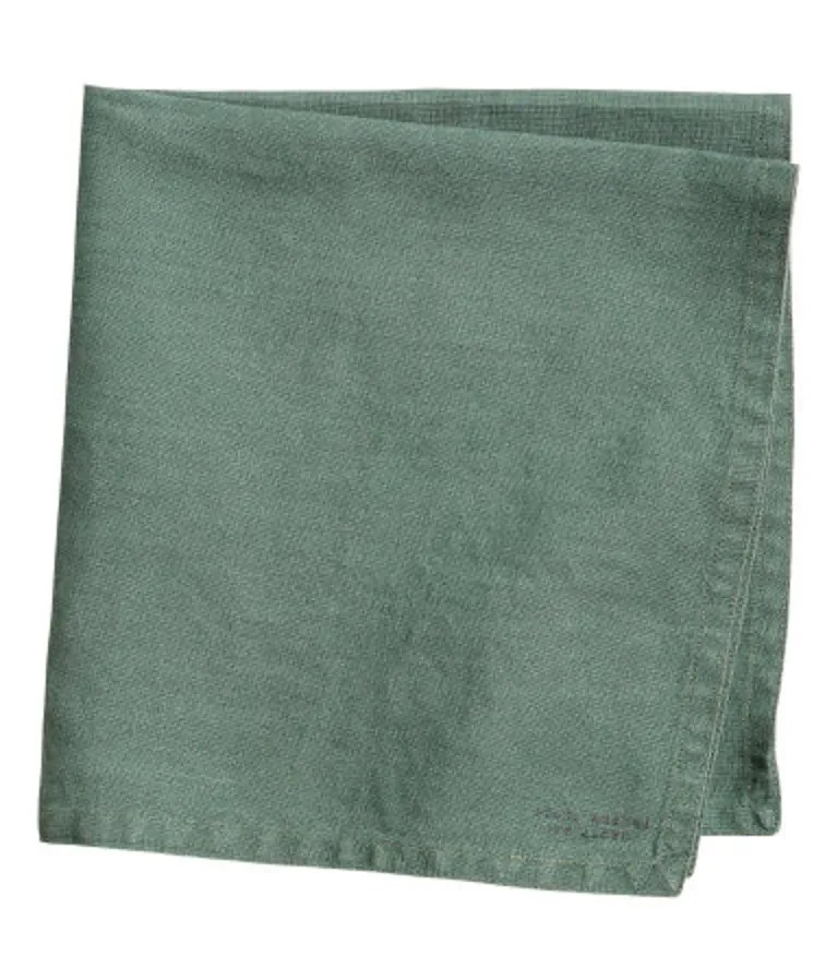 With double-stitched edges and super-soft stone-washed linen, these dinner napkins are way fancier-looking than the $6-apiece cost. SHOP NOW: Washed Linen Napkin in Green by H&M, $24 for four, hm.com