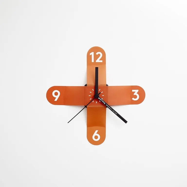 This cutie can be restuck to the wall up to 200 times—on the wall of your cube? by the front door?—but we can't imagine ever taking it down. SHOP NOW: Sticker Clock by Jamie Wolfond, $10, supergoodthing.com