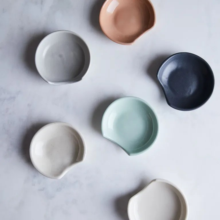 Hand-thrown and in a rainbow of perfectly muted hues, these little beds for your cooking utensils will make you actually want to cook. SHOP NOW: Spoon Rest by Pigeon Toe, $24, food52.com