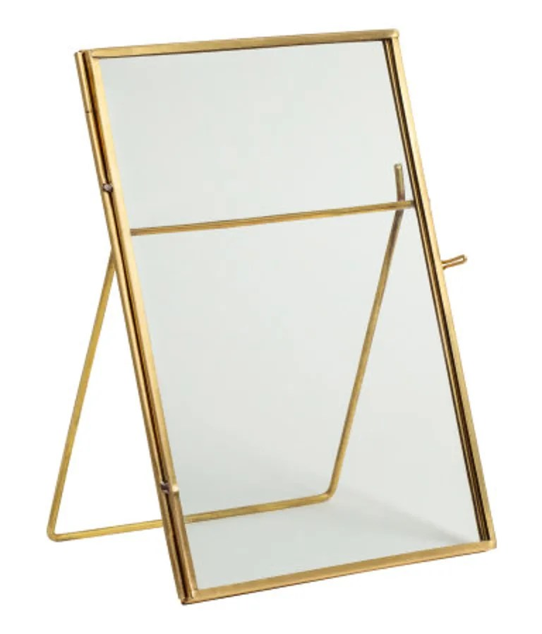 Pop in a picture of you and your loved one (even if it's a printed version of an instagram). SHOP NOW: Metal Photo Frame by H&M, $13, hm.com