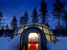 World Ice Hotels Rooms Cold