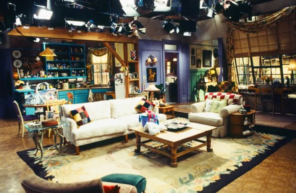 FRIENDS -- Sets -- Pictured: Monica Geller and Rachel Green's Apartment  (Photo by Gary Null/NBC/NBCU Photo Bank via Getty Images)