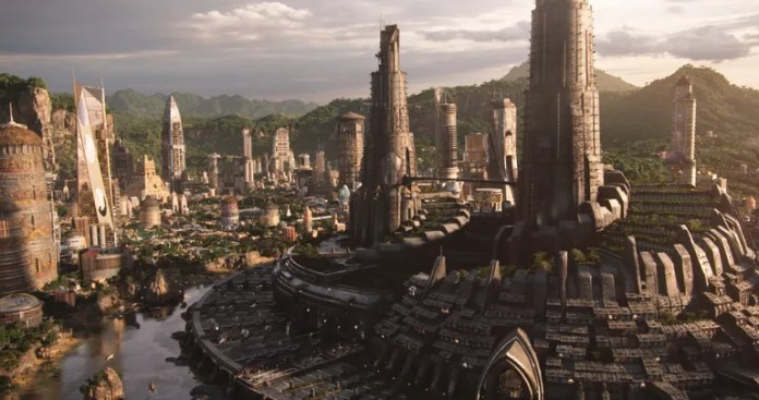 Image result for wakanda city