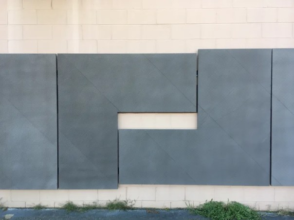 Long pieces of L-shaped concrete cladding will form the exterior of 30 Warren.