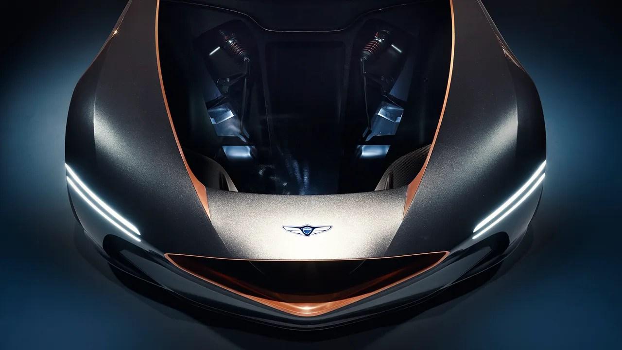 The Genesis Essentia Concept Stole The 2018 New York Auto Show