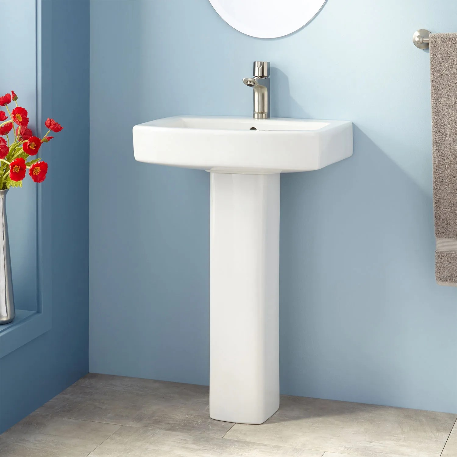 Small Rectangular Bathroom Sink 8 Small Bathroom Sinks That Will Make A Big Impact Architectural