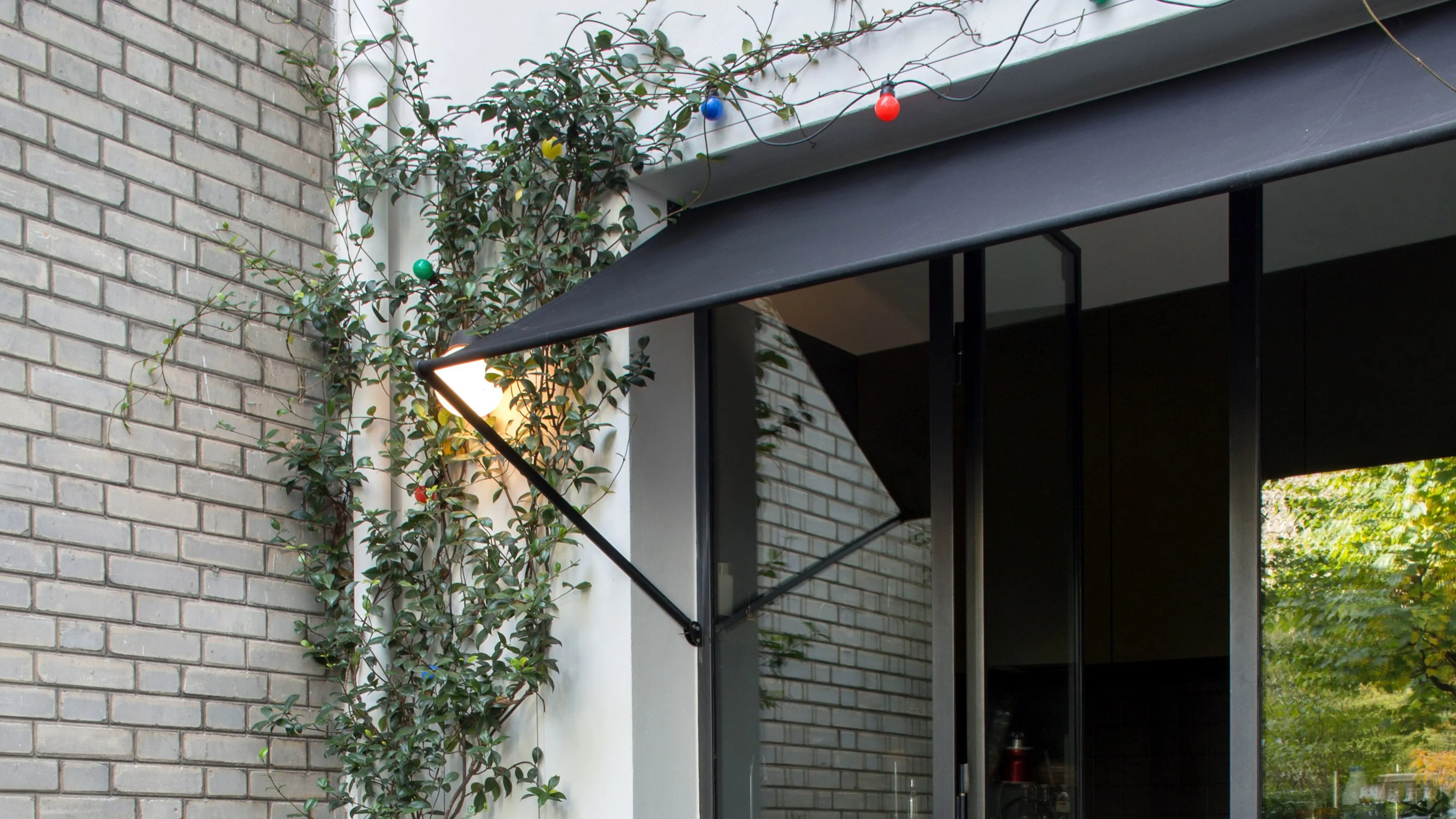 a door awning