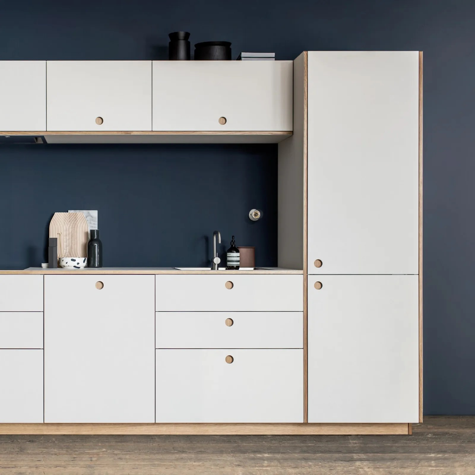 ikea kitchen cabinets moen chateau faucet repair these are the best fronts for architectural white with centered finger pulls in blue kithchen