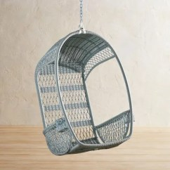 Anthropologie Hanging Chair Queen And King Chairs 11 You Ll Never Want To Get Out Of Architectural Digest Shop Now Swingasan Collection In Light Blue By Pier1 Imports 300 Com