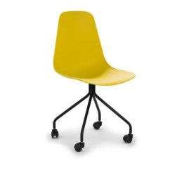 Yellow Office Chair Blue Velvet Tufted 10 Desk Chairs That Are Actually As Comfy They Cute Pretty Much Our Dream Full Stop Shop Now Svelti By Article