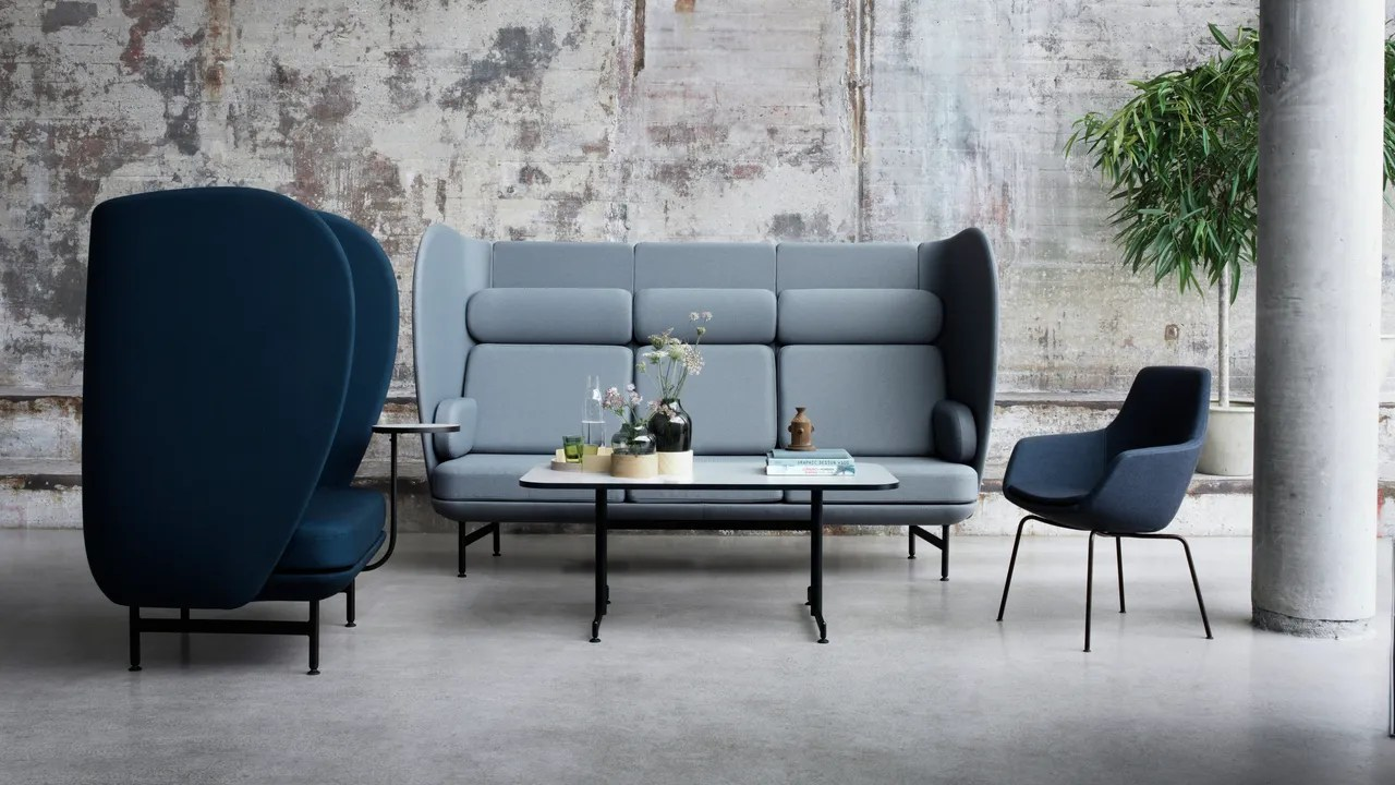 sofa and more modern leather wood roman williams to design fotografiska jaime hayon office restaurant at furniture cope does candles news this week