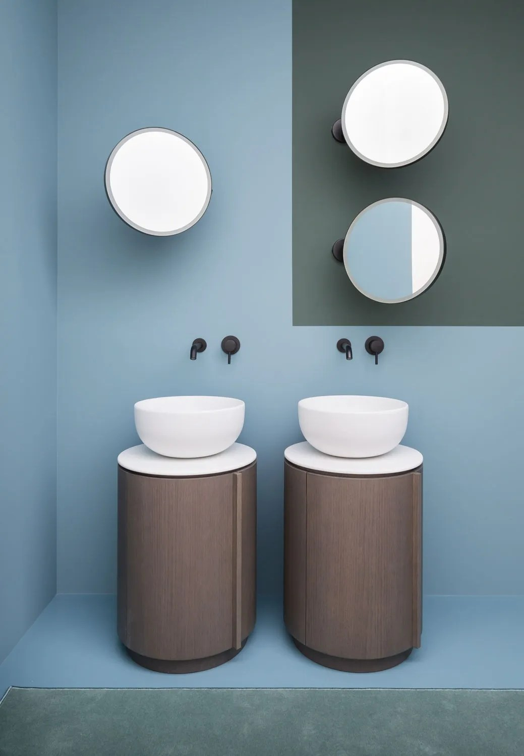 Here S A Bathroom Vanity Idea Don T Make It Rectangular Architectural Digest