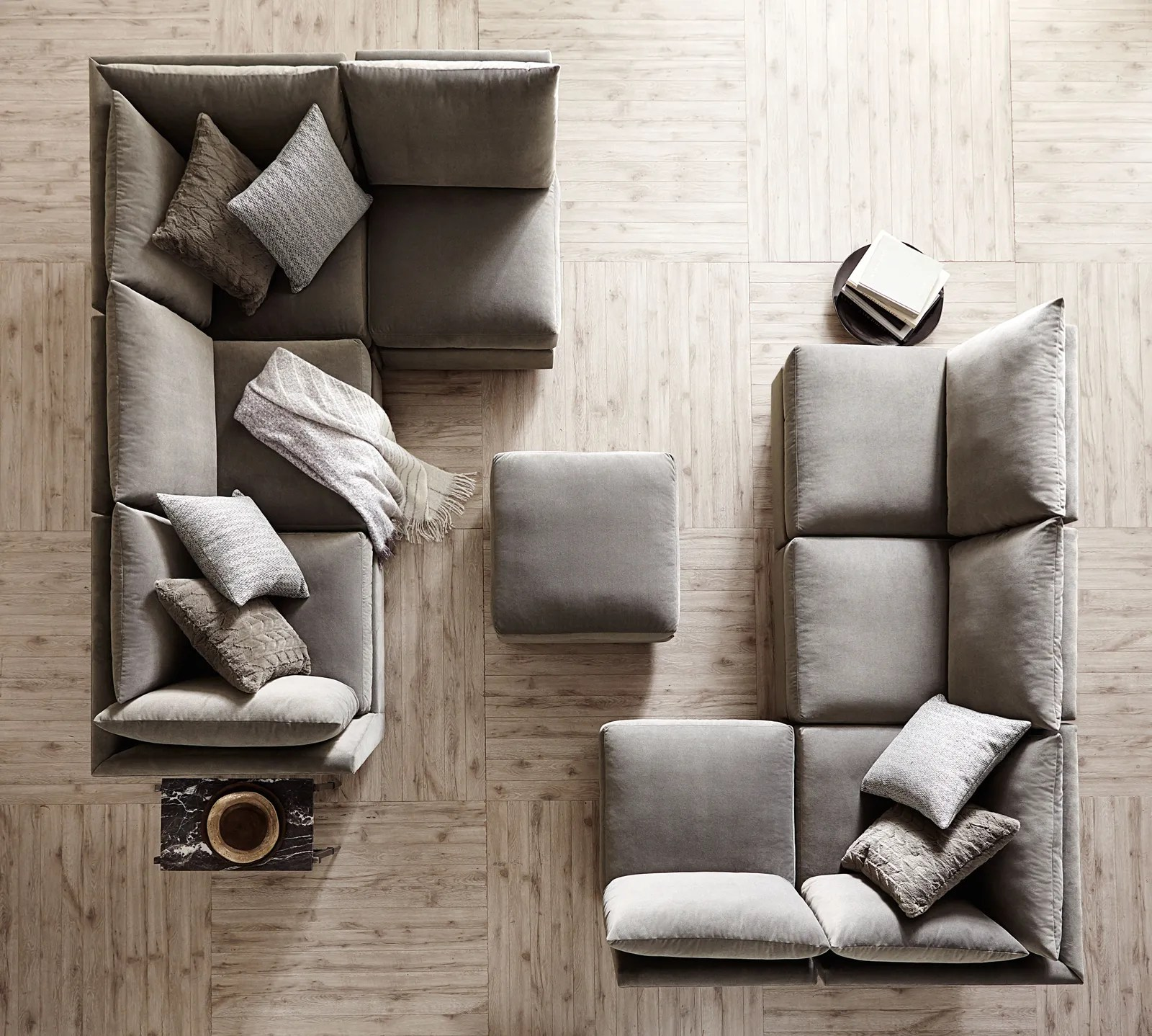 13 New Sectional Sofas That Provide Bespoke Perks At A Fraction Of The Cost Architectural Digest