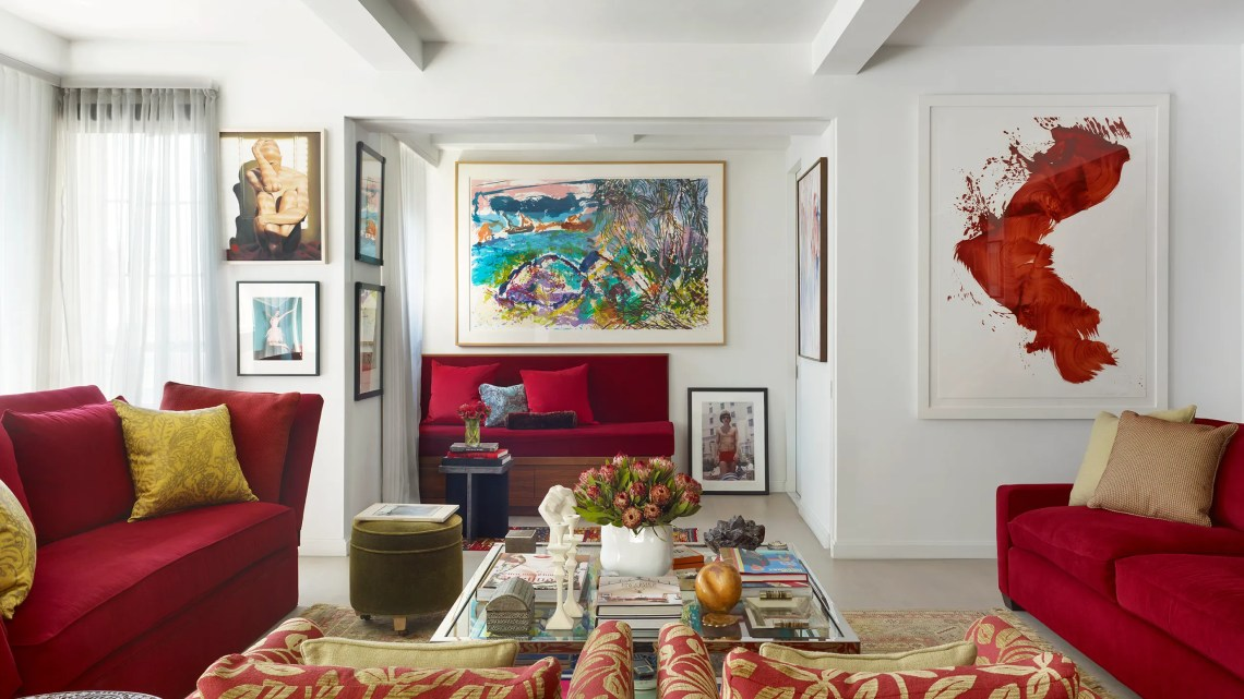 This Art Filled Apartment Transports Visitors To An 18th Century French Salon Architectural Digest