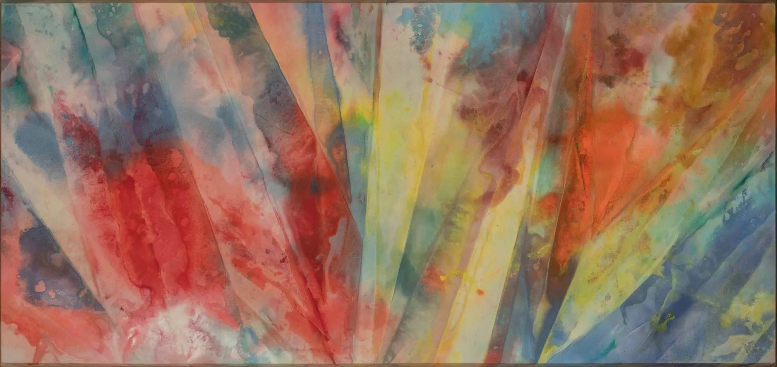 Sam Gilliam's Ray painting.