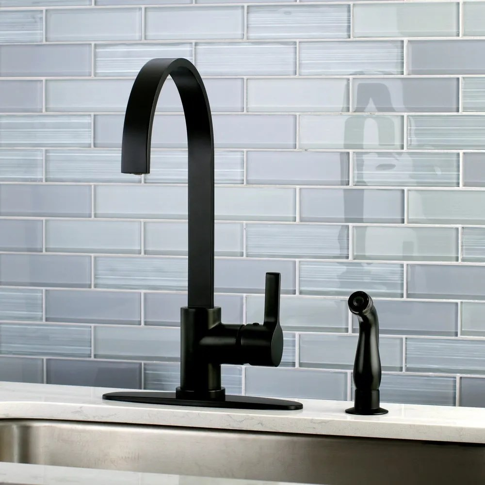 25 black kitchen faucets for a