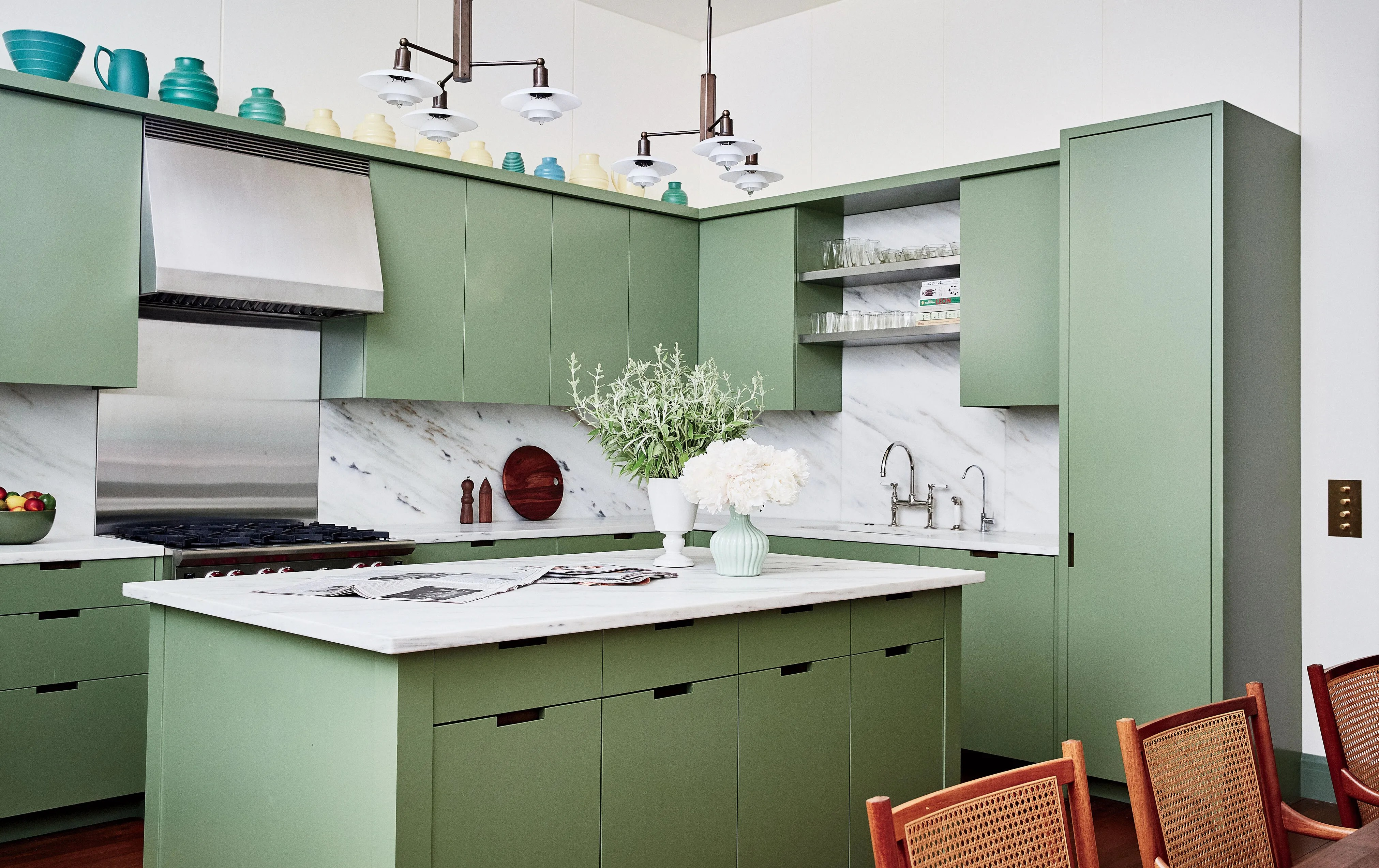 Green Kitchens Are Having A Moment Architectural Digest