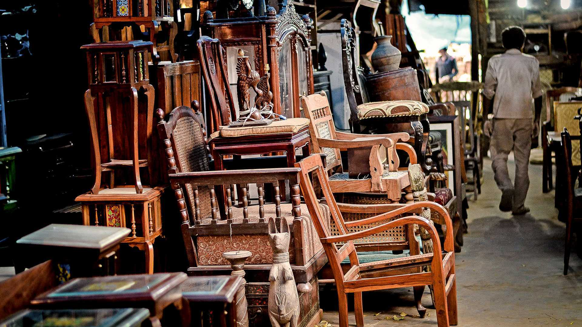 A Guide to Indias 25 Most Antique Furniture Stores  AD India