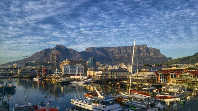 Table Bay Harbor, Cape Town, South Africa