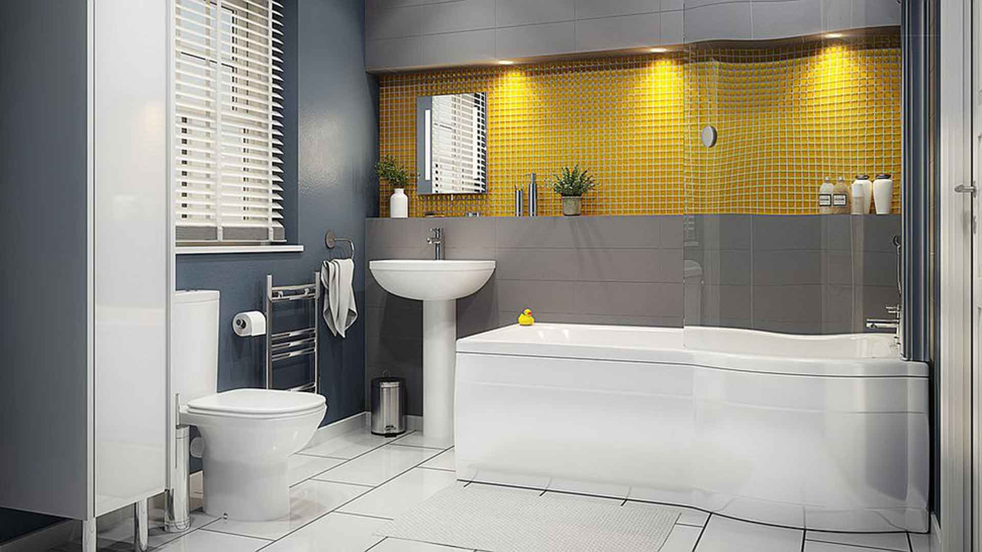 Bathroom Paints Interior Design Bring This Year S Brightest Colour Into Your