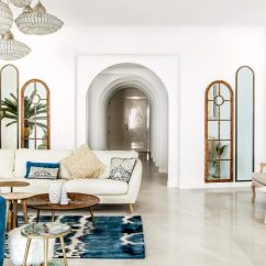 Interior Designs For Apartment Living Rooms Ideas To Design Room This In The Uae Is A Santorini Inspired Of Reflects Hex S Minimalistic Sense Style