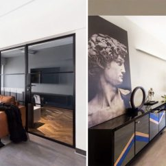 New York Loft Style Living Room Curtain Ideas Modern This Apartment In Mumbai Is Every Bachelor S Dream Interior Designer Jason Wadhwani Opened Up The Space Compact By Carving Out