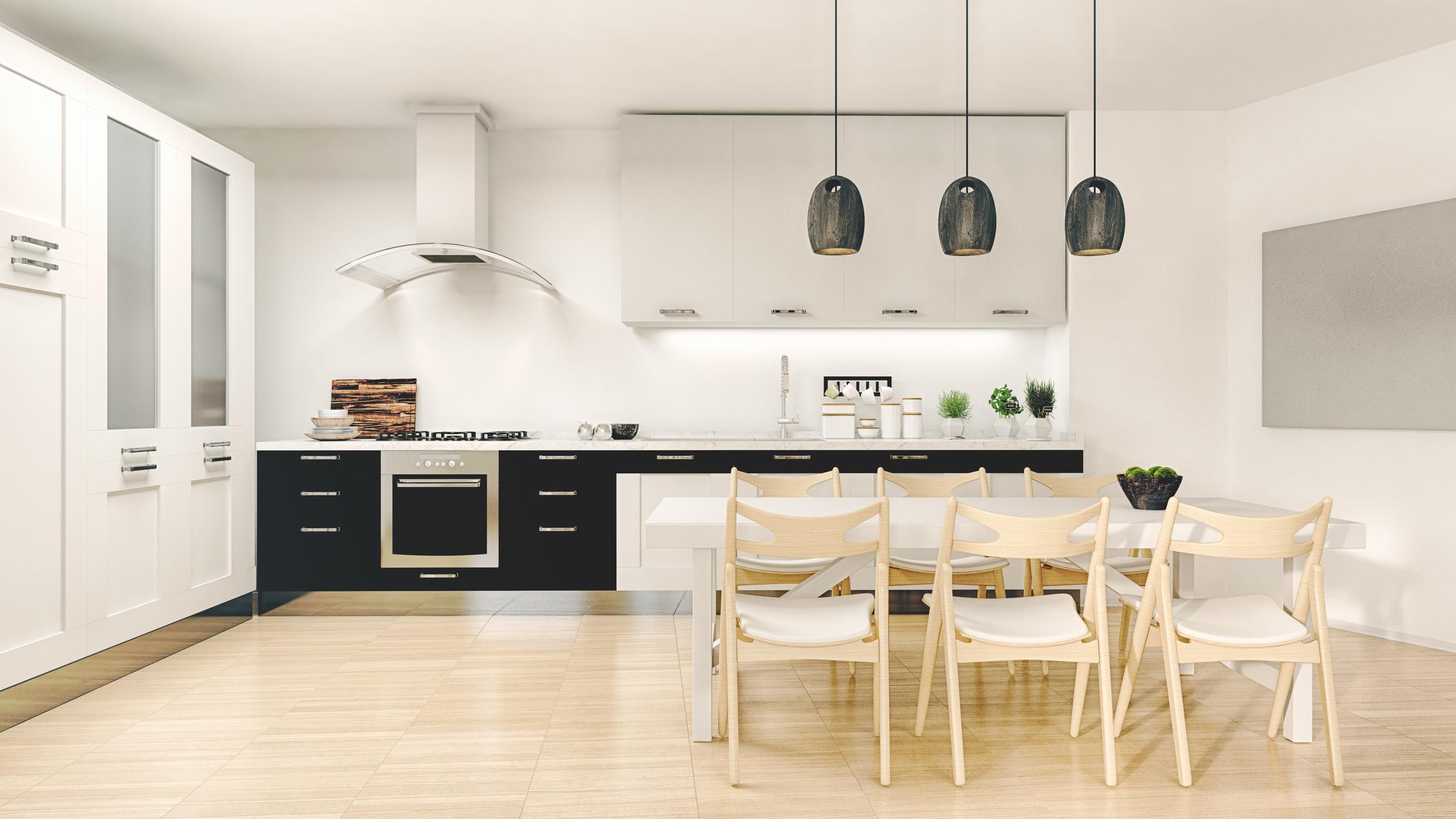 modern kitchen tiles design in India,