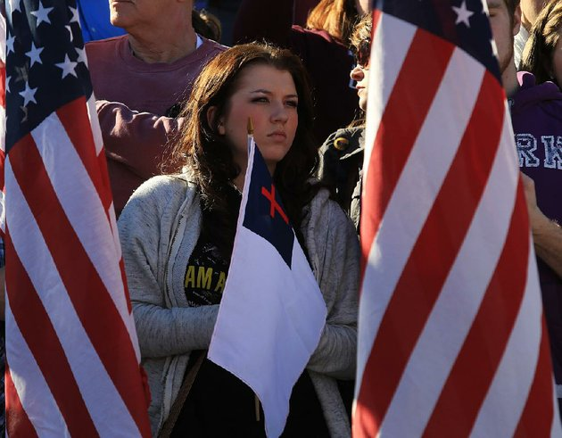 alexis-st-clair-of-hot-springs-listens-to-the-program-sunday-afternoon-at-the-35th-annual-march-for-life-at-the-state-capitol-in-little-rock