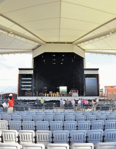 Walmart arkansas music pavilion readies for opening concert in rogers nwadg also rh nwaonline