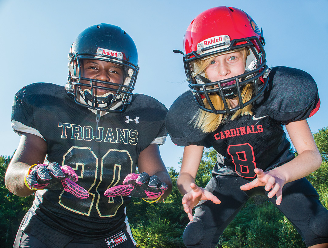Young Area Females Tackle Male Dominated Sport