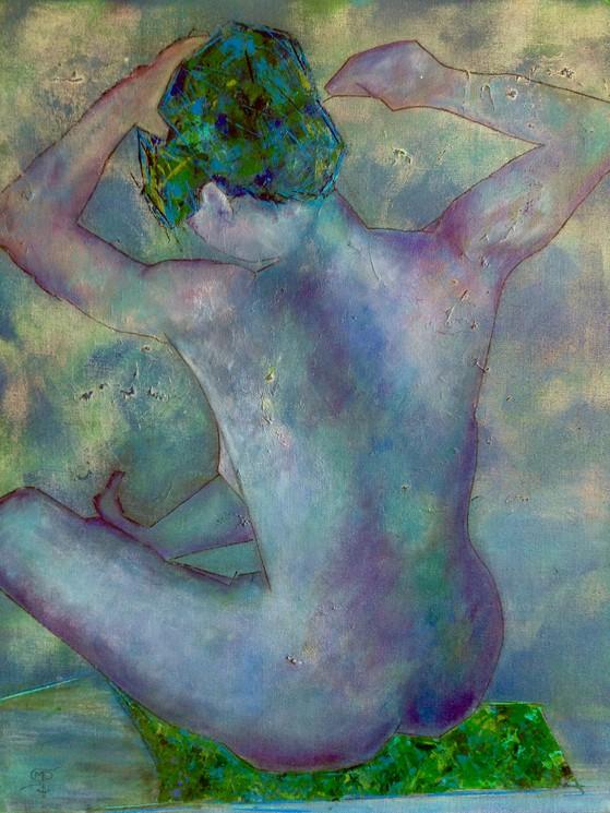 Je Vous Parle D'un Temps : parle, temps, Parle, Temps, Marie-Pierre, Scarton,, Painting, Artsper, (237619)