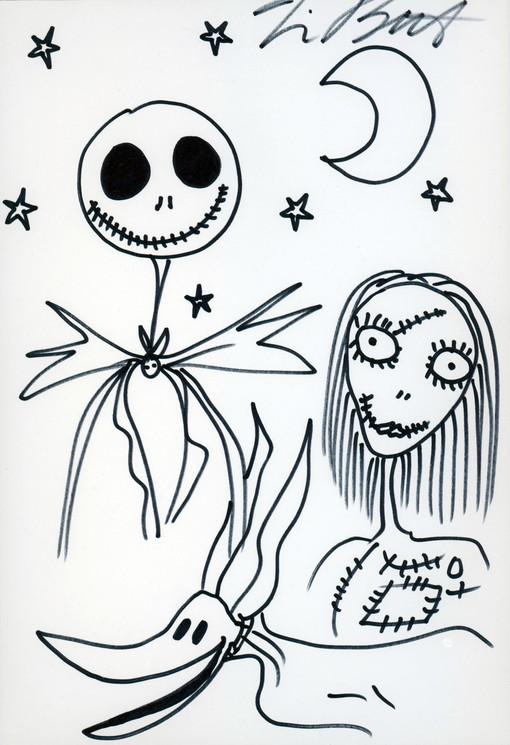 L Etrange Noel De Mister Jack : etrange, mister, L'étrange, Noël, Monsieur, Jack,, Sally, Burton,, Drawings, Artsper, (31423)