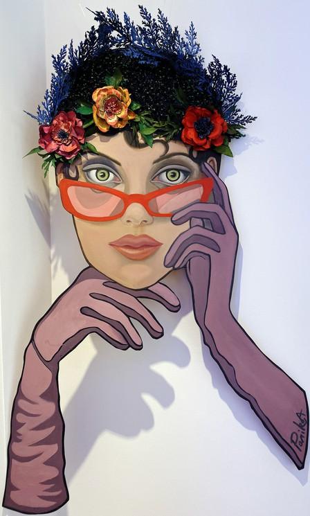 Regarde Moi Dans Les Yeux : regarde, Regarde, Alexandra, Parikova,, Painting, Artsper, (623733)