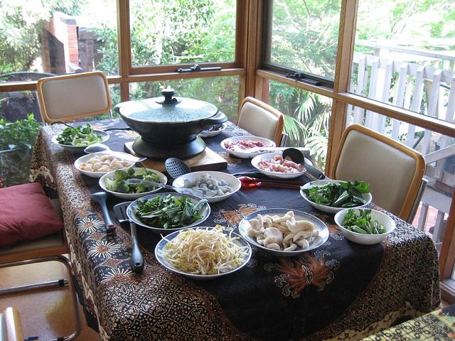 Recette Steamboat Hot pot Fondue chinoise  Recettes asiatiques  Restaurants asiatiques  Asie360
