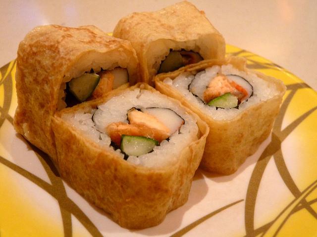 Recette Sushi Maki omelette sans algue pouletsalade  Recettes asiatiques  Restaurants