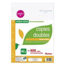 auchan lot de 50 copies doubles 21x29