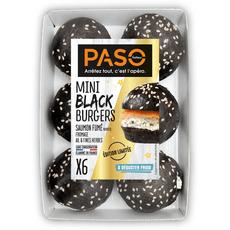 paso mini burger cheese 6 pieces 270g