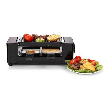 raclette 2 personnes q 5795 noir