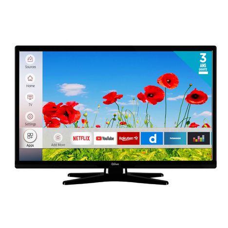 qilive q24 822 tv led hd 60 cm smart tv