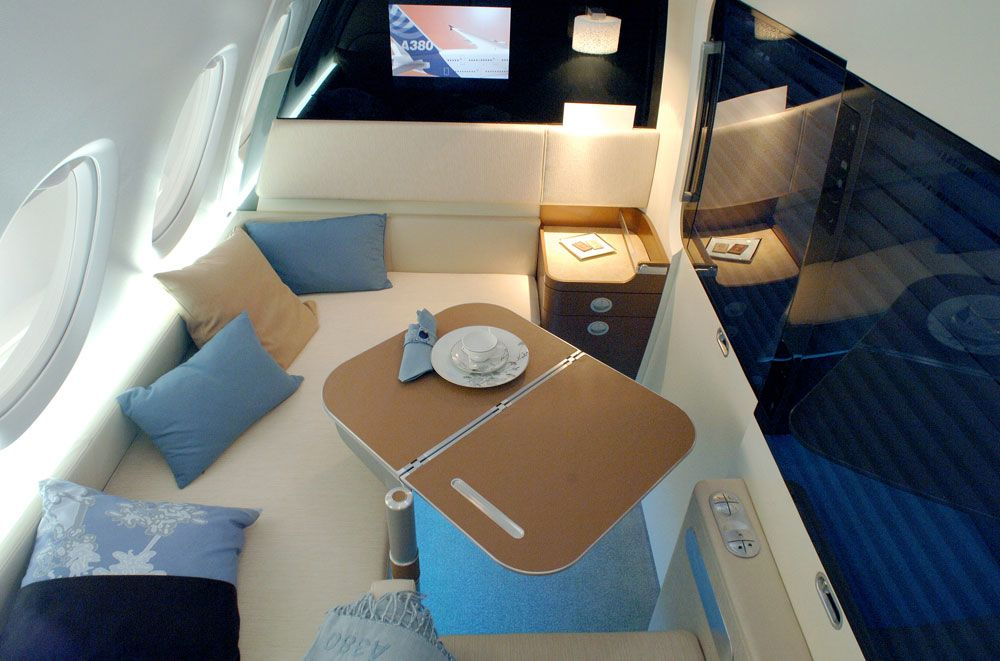 The Airbus A380 first class concept cabins you never saw