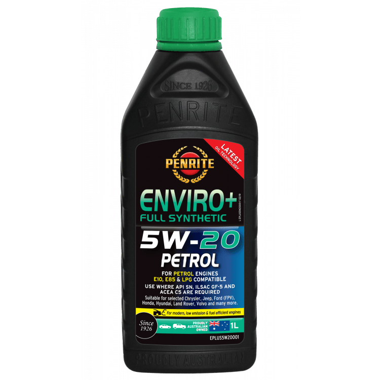 Full Synthetic SAE 5W-20 API SN Resource Conserving ILSAC GF-5 Engine Oil - Autobarn